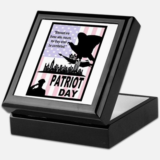 Patriot Day 911 Keepsake Box