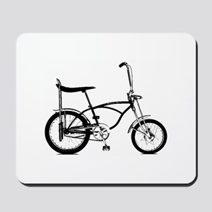 Retro Banana Seat Bike Mousepad