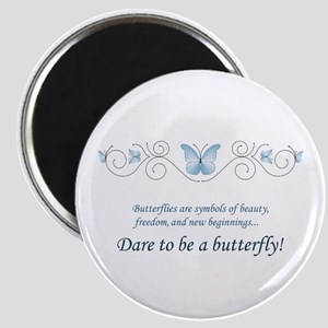 Butterfly Challenge Magnet