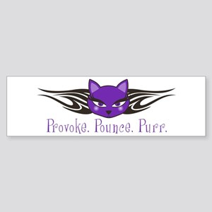 Provoke Bumper Sticker