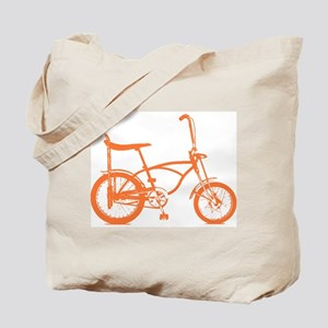 Retro Orange Banana Seat Bike Tote Bag
