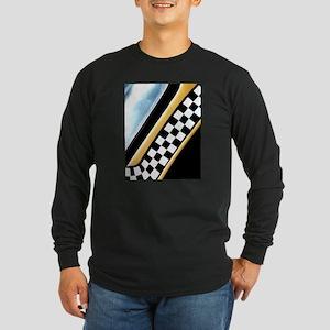 Checker Cab No. 7 Long Sleeve Dark T-Shirt