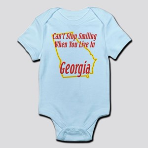 Can't Stop Smiling in GA Infant Bodysuit