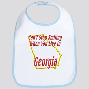 Can't Stop Smiling in GA Bib
