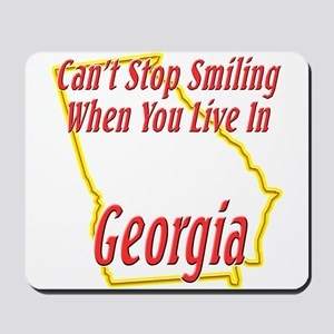 Can't Stop Smiling in GA Mousepad