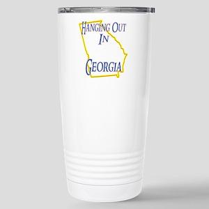 Hanging Out in GA Stainless Steel Travel Mug