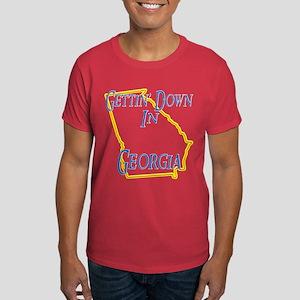 Gettin' Down in GA Dark T-Shirt