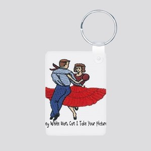 Can I Take Your Picture? Aluminum Photo Keychain