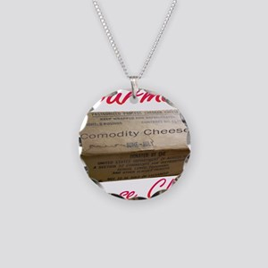 Commodity Cheese Chef Necklace Circle Charm