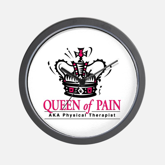 "Physical Therapy ""Queen"" Wall Clock"
