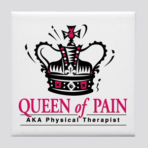 """Physical Therapy """"Queen"""" Tile Coaster"""