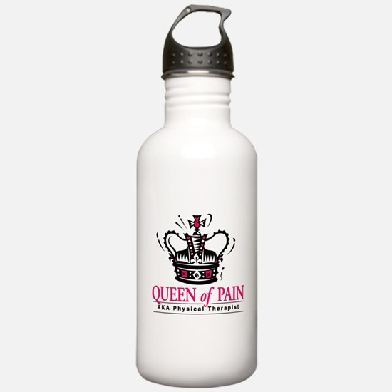 "Physical Therapy ""Queen"" Water Bottle"