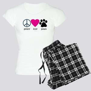 Peace Love Paws Women's Light Pajamas