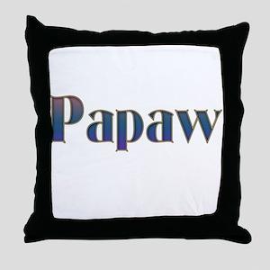 PAPAW Throw Pillow