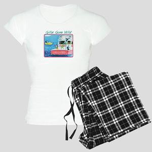 Gills Gone Wild Women's Light Pajamas
