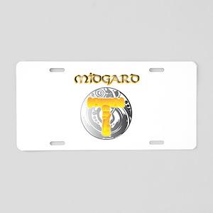 Midgard Norse Mythology Aluminum License Plate