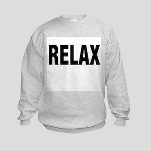 Frankie Says RELAX Retro 80s Kids Sweatshirt