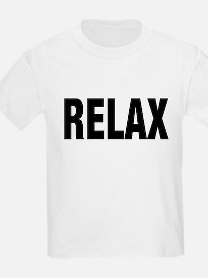 Frankie Says RELAX Retro 80s Kids T-Shirt