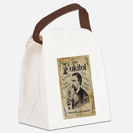 Fukitol Canvas Lunch Bag