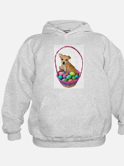 Puppy Easter Basket Hoodie