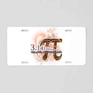 PI Day - Aluminum License Plate