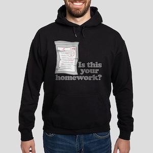 Your Homework Larry Hoodie (dark)