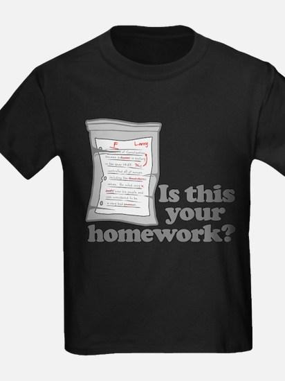 Your Homework Larry T