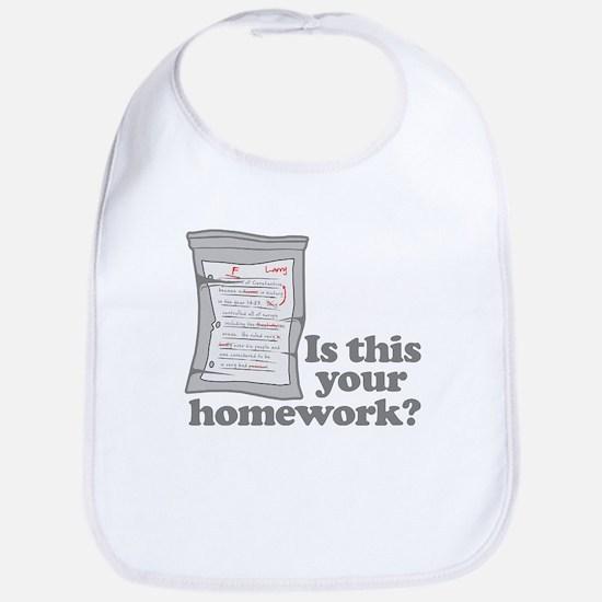 Your Homework Larry Bib