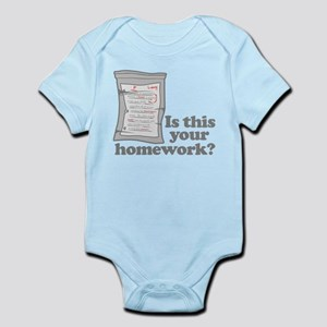 Your Homework Larry Infant Bodysuit