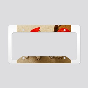 Happy Howlidays License Plate Holder