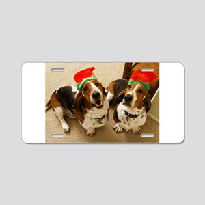 Happy Howlidays Aluminum License Plate