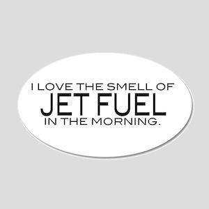 Jet Fuel 22x14 Oval Wall Peel