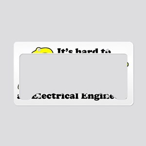 Hard to Resist an EE License Plate Holder
