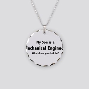 Mechanical Engineer Son Necklace Circle Charm