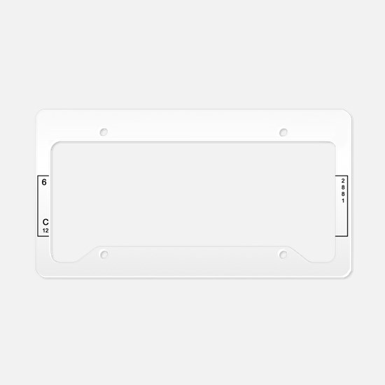 Unique Engineer License Plate Holder
