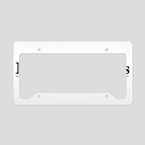 Putting the Fun in Function License Plate Holder