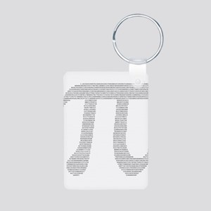 Digits of Pi Aluminum Photo Keychain