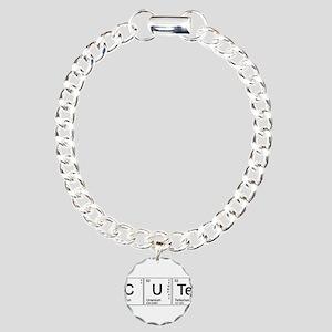 Cute Periodic Charm Bracelet, One Charm