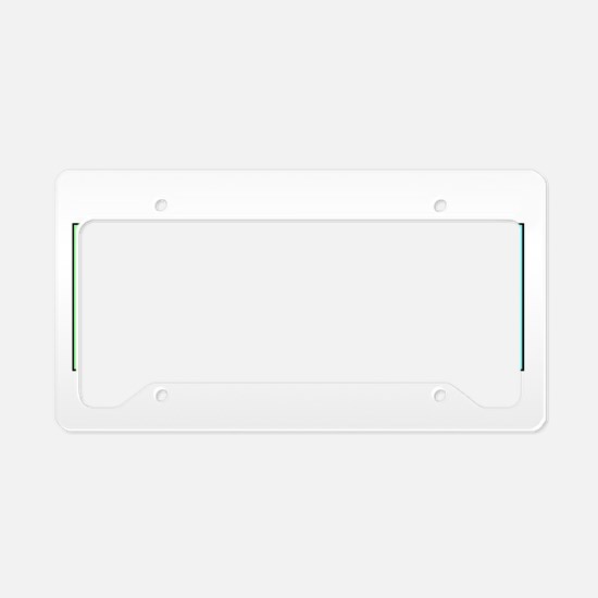 Periodic Nerd License Plate Holder