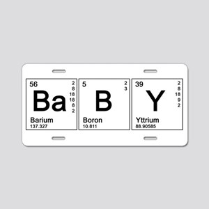 Kids periodic table aluminum license plates cafepress periodic baby aluminum license plate urtaz Gallery