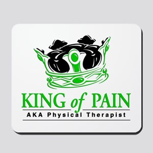 "Physical Therapy ""King"" Mousepad"