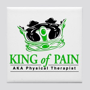 """Physical Therapy """"King"""" Tile Coaster"""