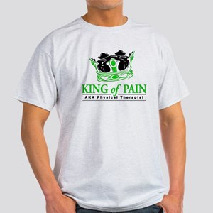 """Physical Therapy """"King"""" Light T-Shirt"""