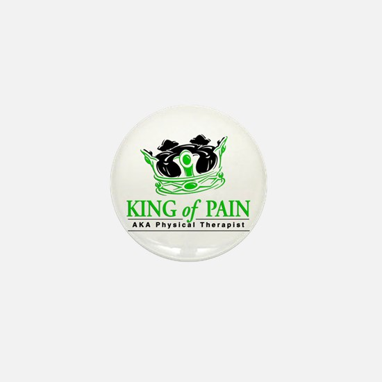"Physical Therapy ""King"" Mini Button (10 pack)"