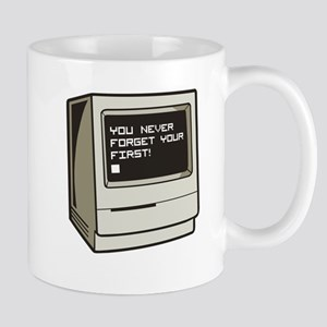 Never Forget First Computer Mug
