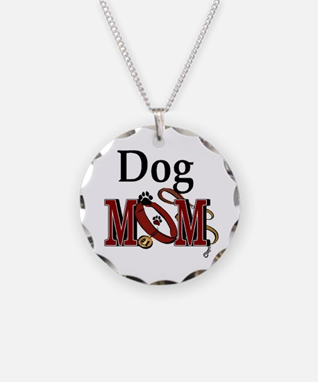 Just Call Me Dog Mom Necklace