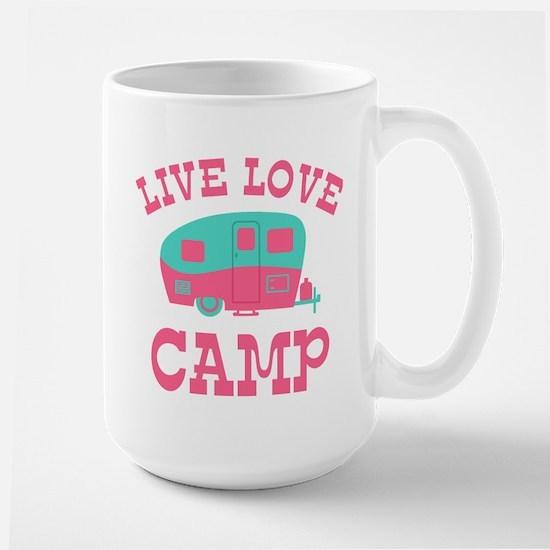 Live Love Camp RV Mug