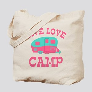 Live Love Camp RV Tote Bag