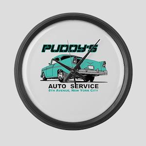 Seinfeld Puddy Auto Large Wall Clock