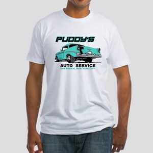Seinfeld Puddy Auto Fitted T-Shirt